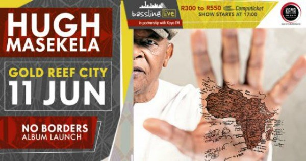 Hugh Masekela Show Rescheduled