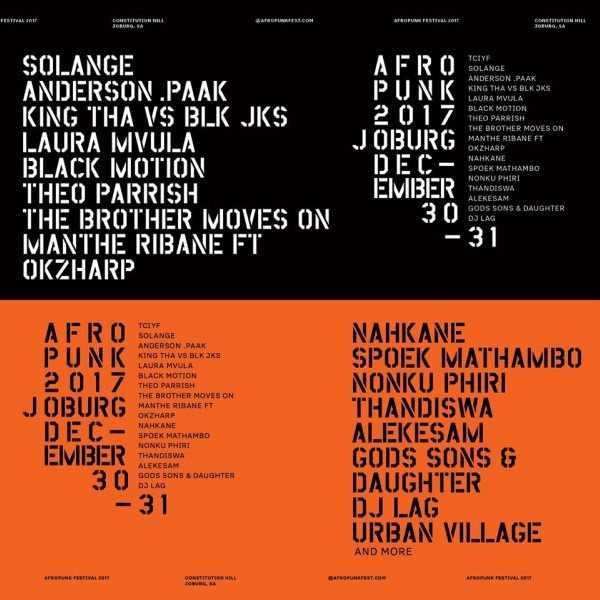 Afropunk Festival is Coming to Jozi
