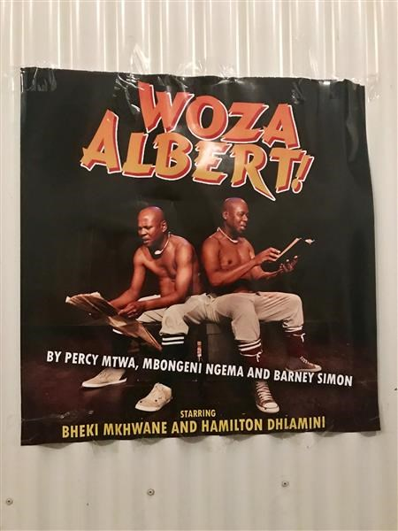 Woza Albert in Maboneng