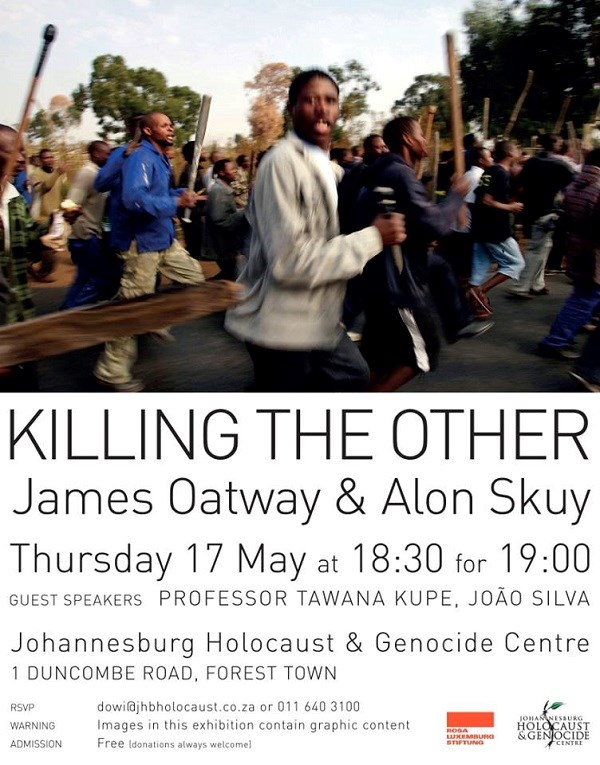 'Killing the Other' a photographic exhibition