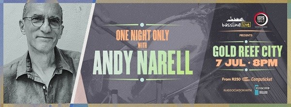 Catch Andy Narell live at The Lyric