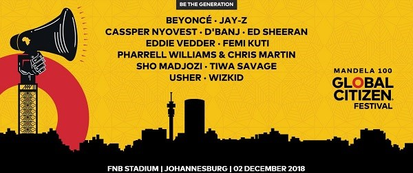 Beyoncé and Jay Z are coming to Jozi