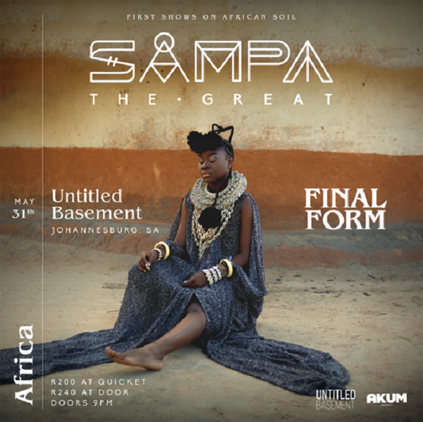 Sampa the Great comes to Jozi