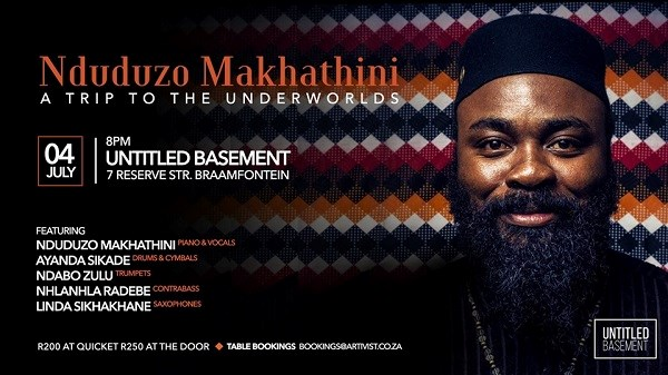 See Nduduzo Makhatini at Untitled Basement