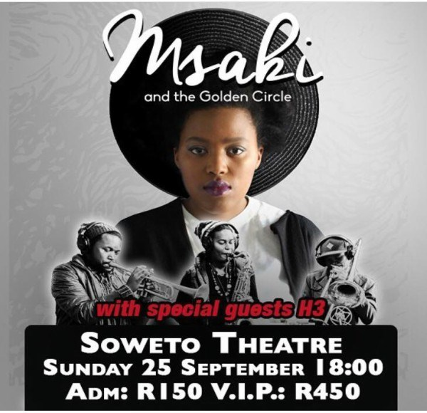 Msaki & The Golden Circle Live
