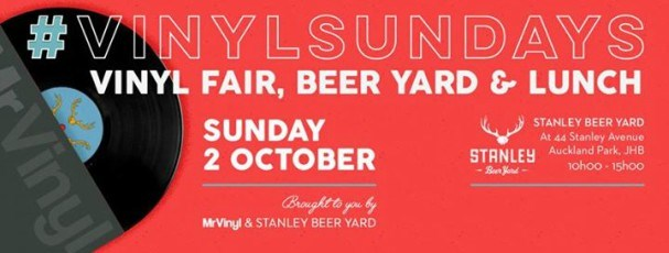 VinylSundays at the Beer Yard