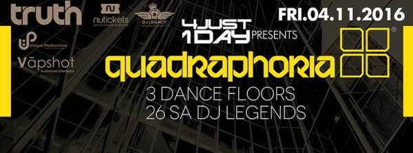 4JUST1DAY Presents Quadraphoria