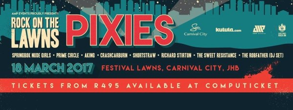 Rock On The Lawn- Pixies
