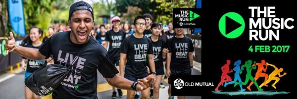 The Music Run by Old Mutual