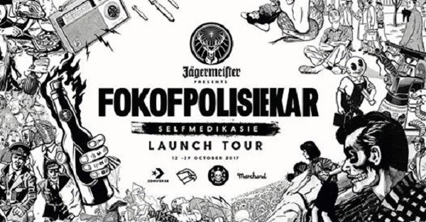 Jägermeister presents Fokofpolisiekar Album Launch