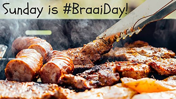 Sunday is Braai Day at Stanley Beer Yard