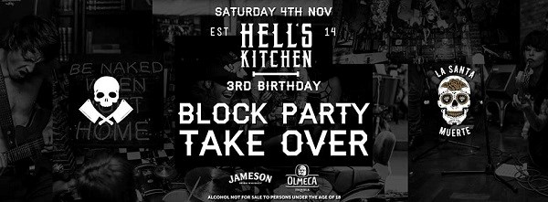 Rock The Block 3rd Birthday Party