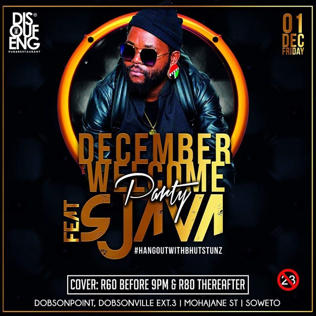 December welcome party ft. Sjava