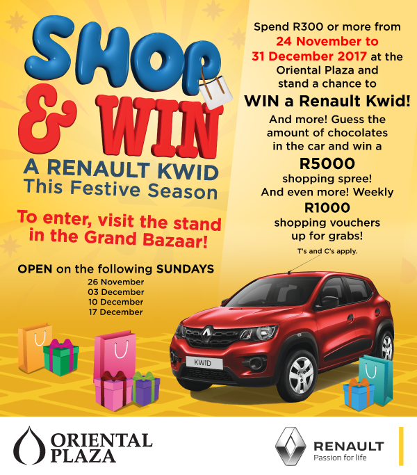 Shop and win with Oriental Plaza