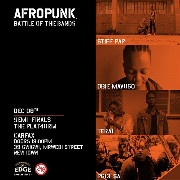 Afropunk battle of the bands Semi 3