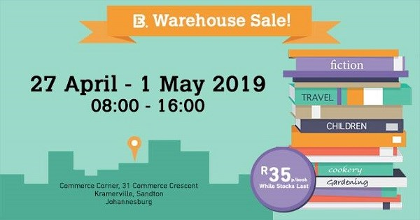Exclusive Books warehouse sale