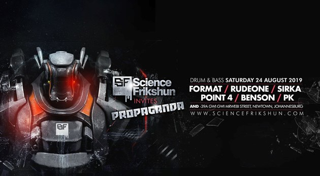 Science Frikshun Invites Propaganda