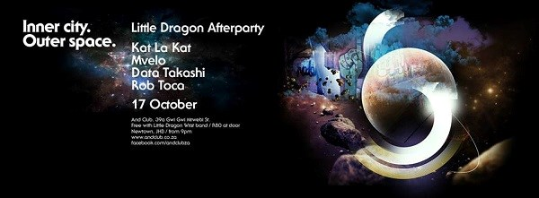 Inner City. Outer Space. Little Dragon After Party