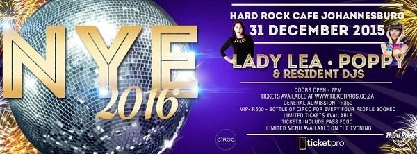 New Year's Eve With Hard Rock Café